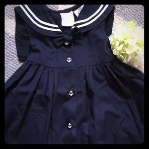 Other - Girl's Navy Sailor Dress (24 month/2T)